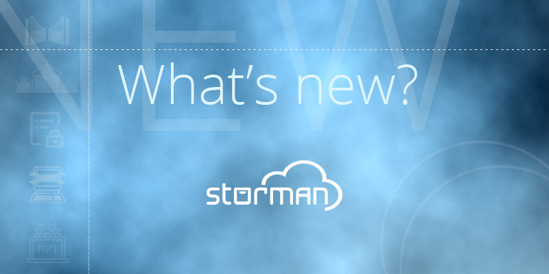 Whats new in Storman Cloud?